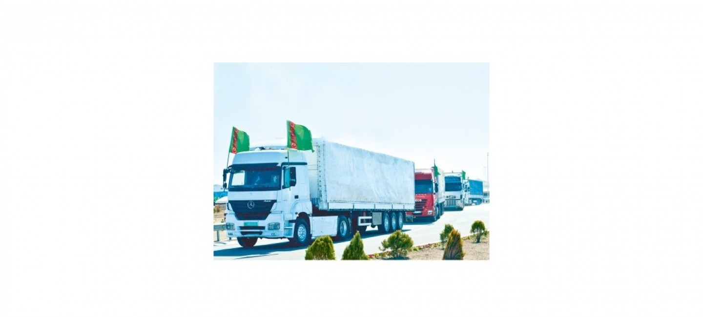 TARIFFS ARE ESTABLISHED IN TURKMENISTAN FOR THE TRANSIT OF FOREIGN CARGO TRAILERS
