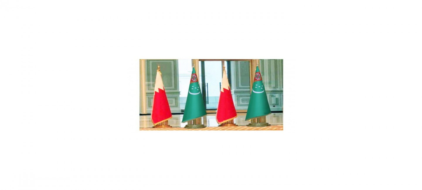 THE PRESIDENT OF TURKMENISTAN AND THE KING OF BAHRAIN DISCUSSED ISSUES OF FURTHER DEVELOPMENT OF PARTNERSHIP
