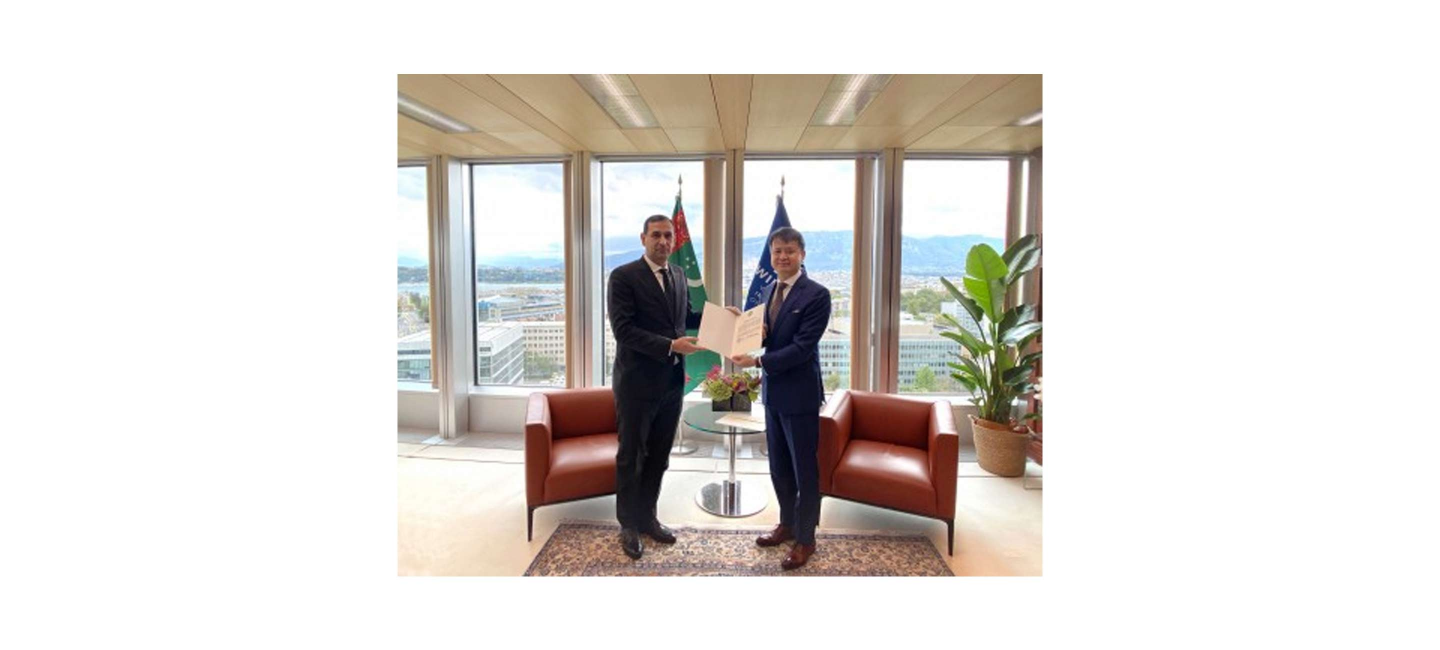 "CEREMONY OF DEPOSITING THE INSTRUMENT ON JOINING THE ""MARRAKESH TREATY"" BY TURKMENISTAN WAS HELD"