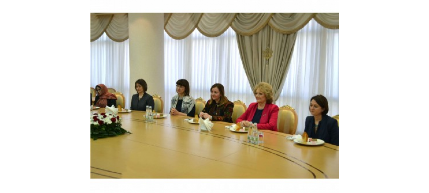 CONGRATULATIONS ON THE OCCASION OF THE INTERNATIONAL WOMEN'S DAY CONVEYED TO THE HEADS OF THE EMBASSIES AND REPRESENTATIONS OF THE INTERNATIONAL ORGANIZATIONS ON BEHALF OF THE PRESIDENT OF TURKMENISTAN