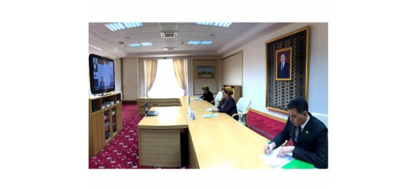 PARTICIPATION OF THE CHAIRWOMAN OF MEJLIS OF TURKMENISTAN IN THE SUMMIT OF WOMEN SPEAKERS OF PARLIAMENTS