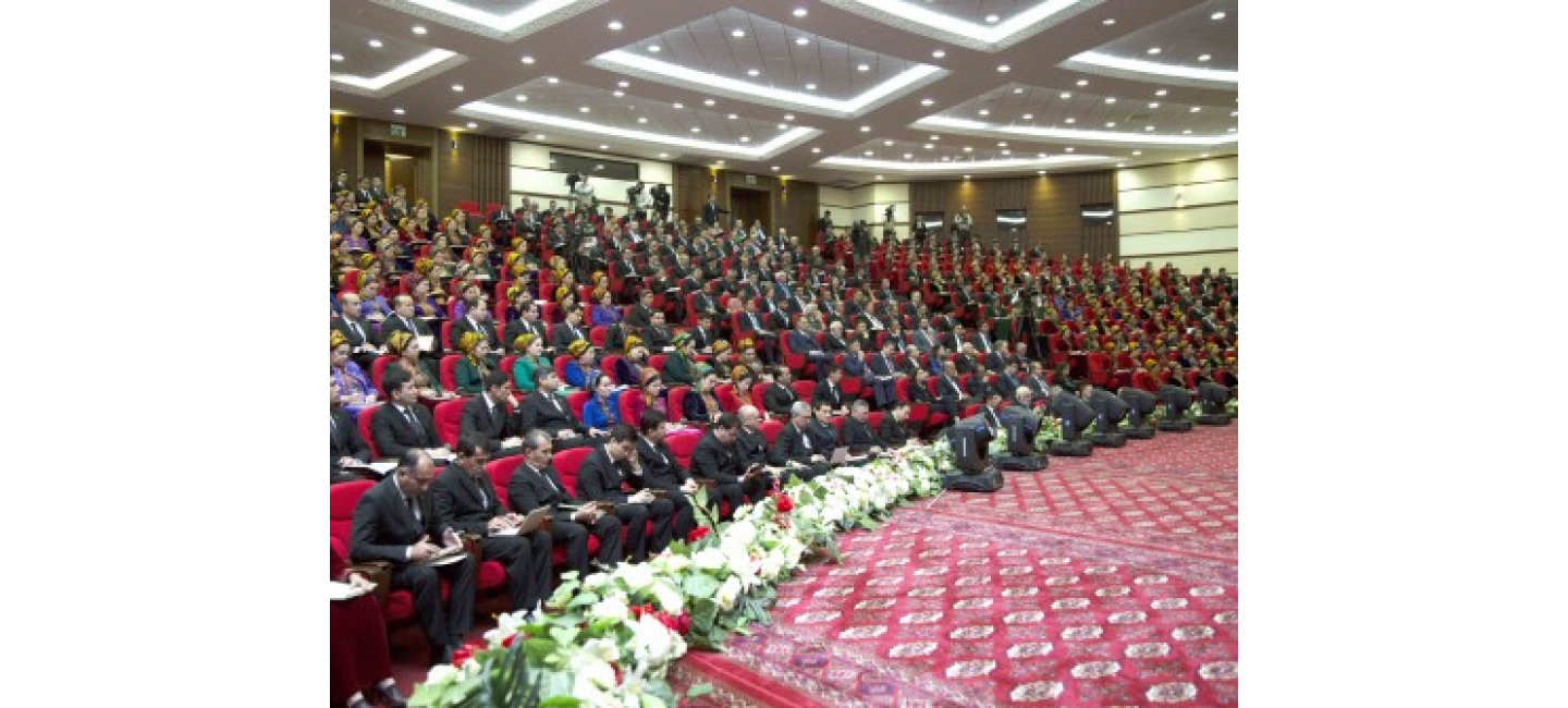 A SCIENTIFIC CONFERENCE DEVOTED TO THE 24TH ANNIVERSARY OF PERMANENT NEUTRALITY WAS HELD AT THE INSTITUTE OF INTERNATIONAL RELATIONS OF THE MFA OF TURKMENISTAN