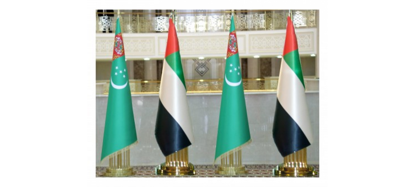 TELEPHONE CONVERSATION BETWEEN THE PRESIDENT OF TURKMENISTAN AND THE CROWN PRINCE OF ABU DHABI