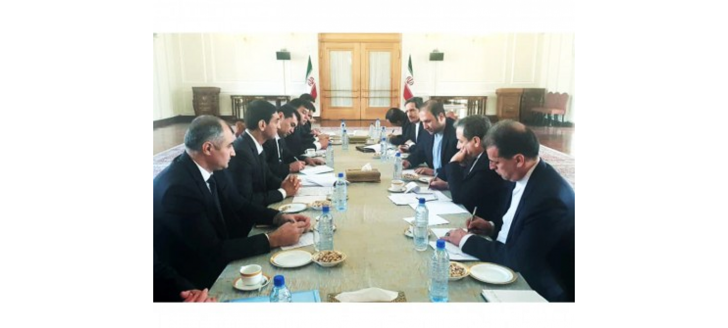 TURKMEN-IRANIAN POLITICAL CONSULTATIONS AND A MEETING OF THE INTERGOVERNMENTAL COMMISSION ON CONSULAR, BORDER AND CUSTOMS ISSUES WERE HELD IN TEHRAN