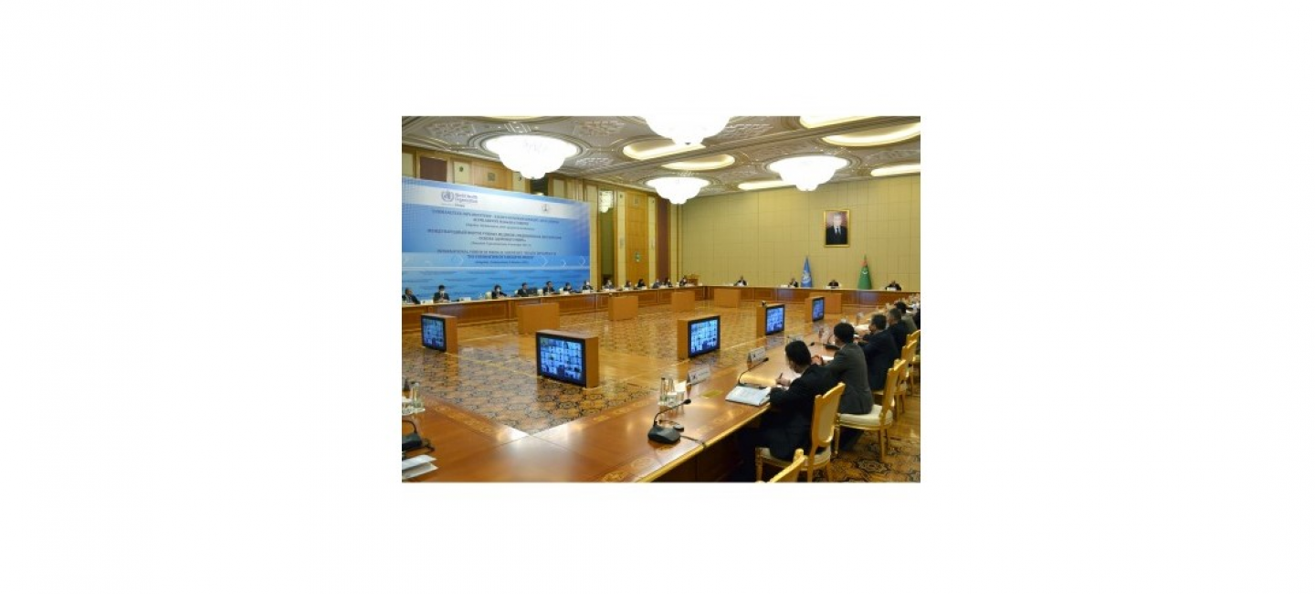 IN THE FRAMEWORK OF THE INTERNATIONAL FORUM OF MEDICAL SCIENTISTS PRIORITIES FOR THE DEVELOPMENT OF HEALTH DIPLOMACY WERE DISCUSSED