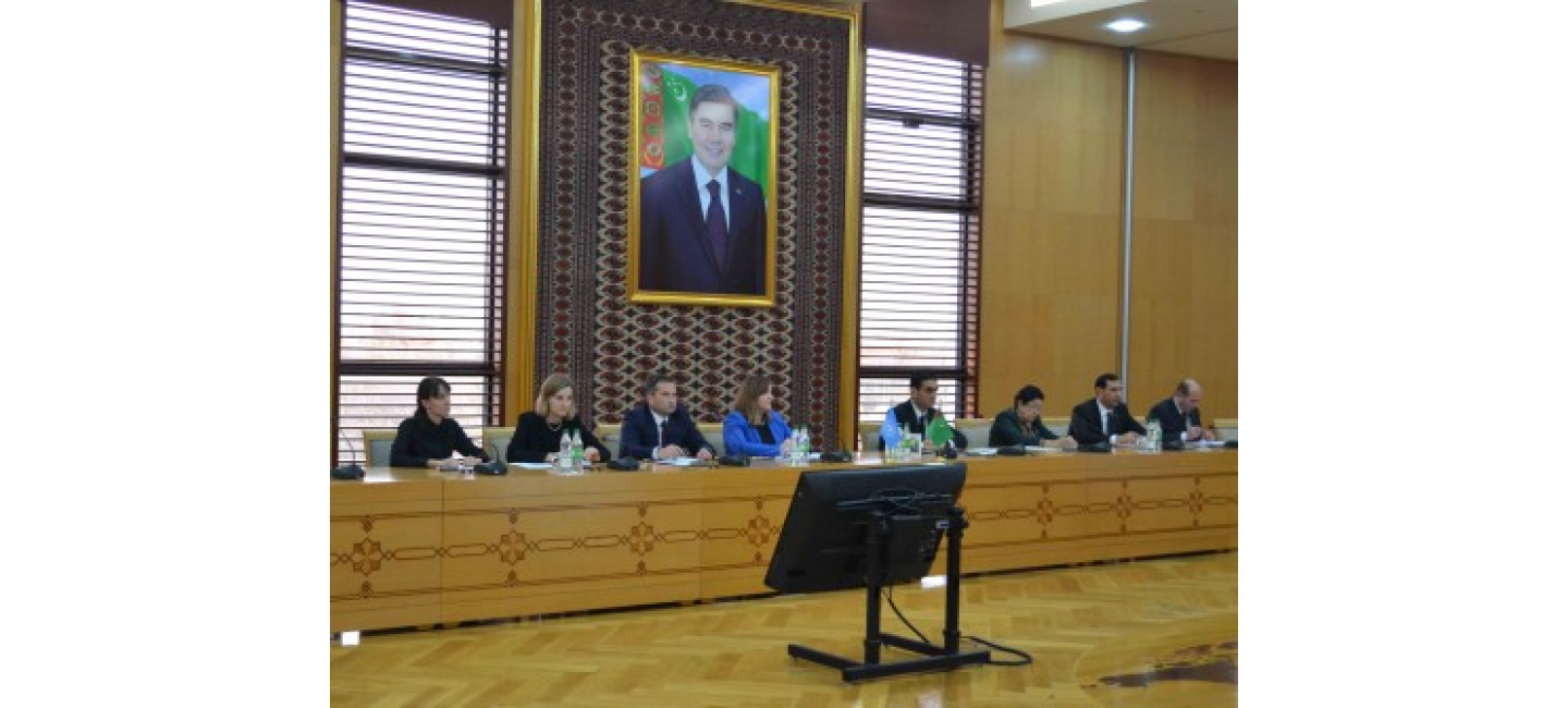 A ROUND TABLE WAS HELD DEDICATED TO THE APPROVAL OF THE NATIONAL STRATEGY OF TURKMENISTAN FOR THE PREVENTION OF VIOLENT EXTREMISM AND COUNTERING TERRORISM